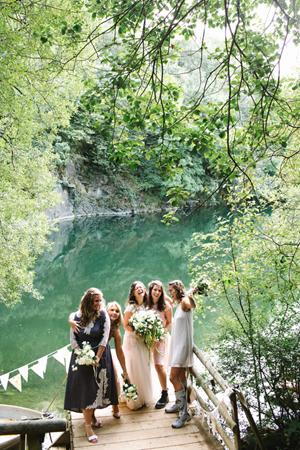 Bohemian Outdoor Wedding UK