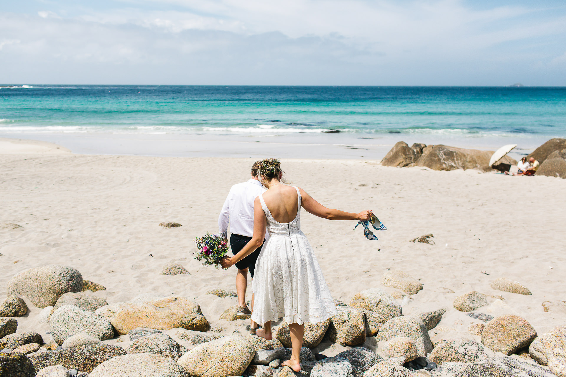 sennen, bride, groom, elopement