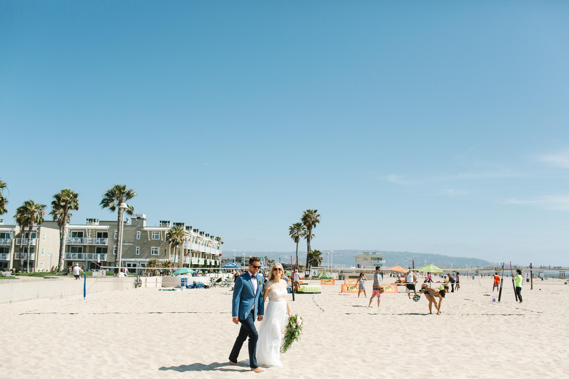Los Angeles Wedding, Documentary, Hermosa Beach