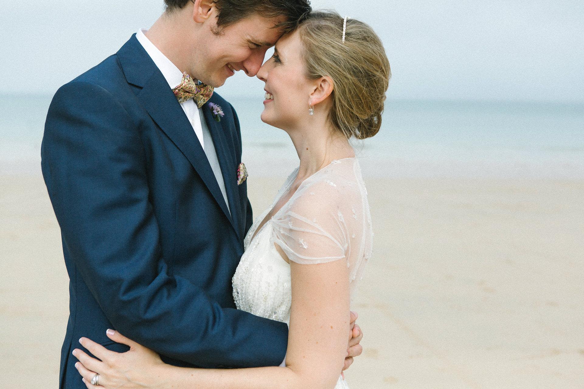 ocean, seaside, bride, groom, jenny, packham