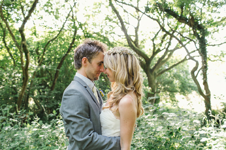 bohemian, woodland, wedding, wales