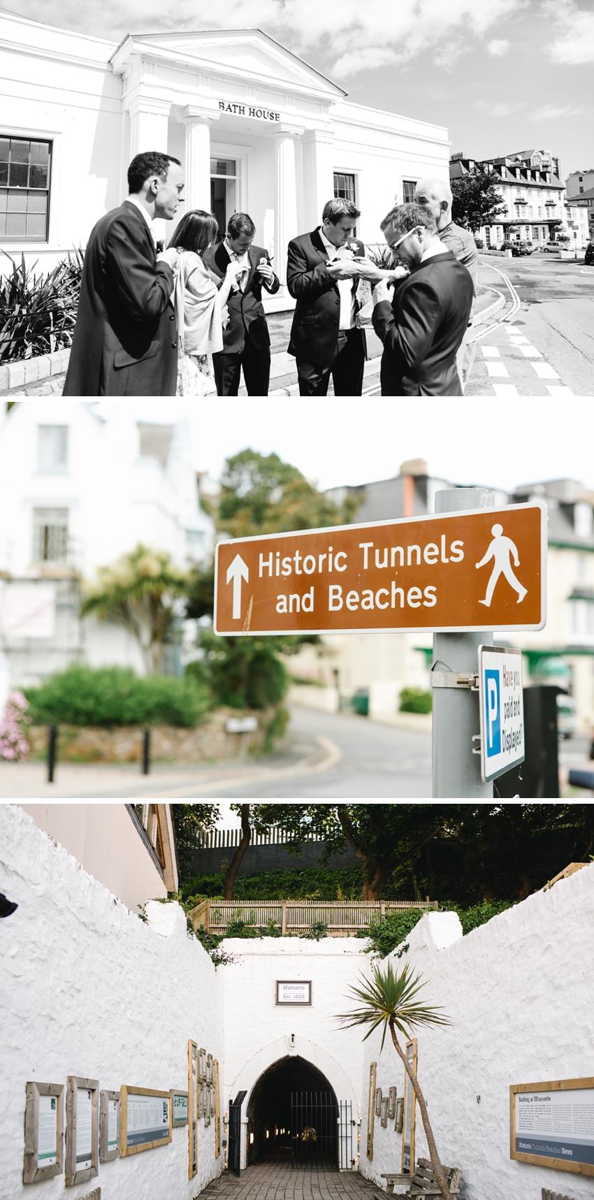 Tunnels Beach Wedding 0011