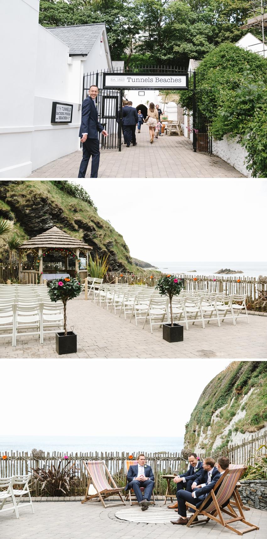 Tunnels Beach Wedding 0012