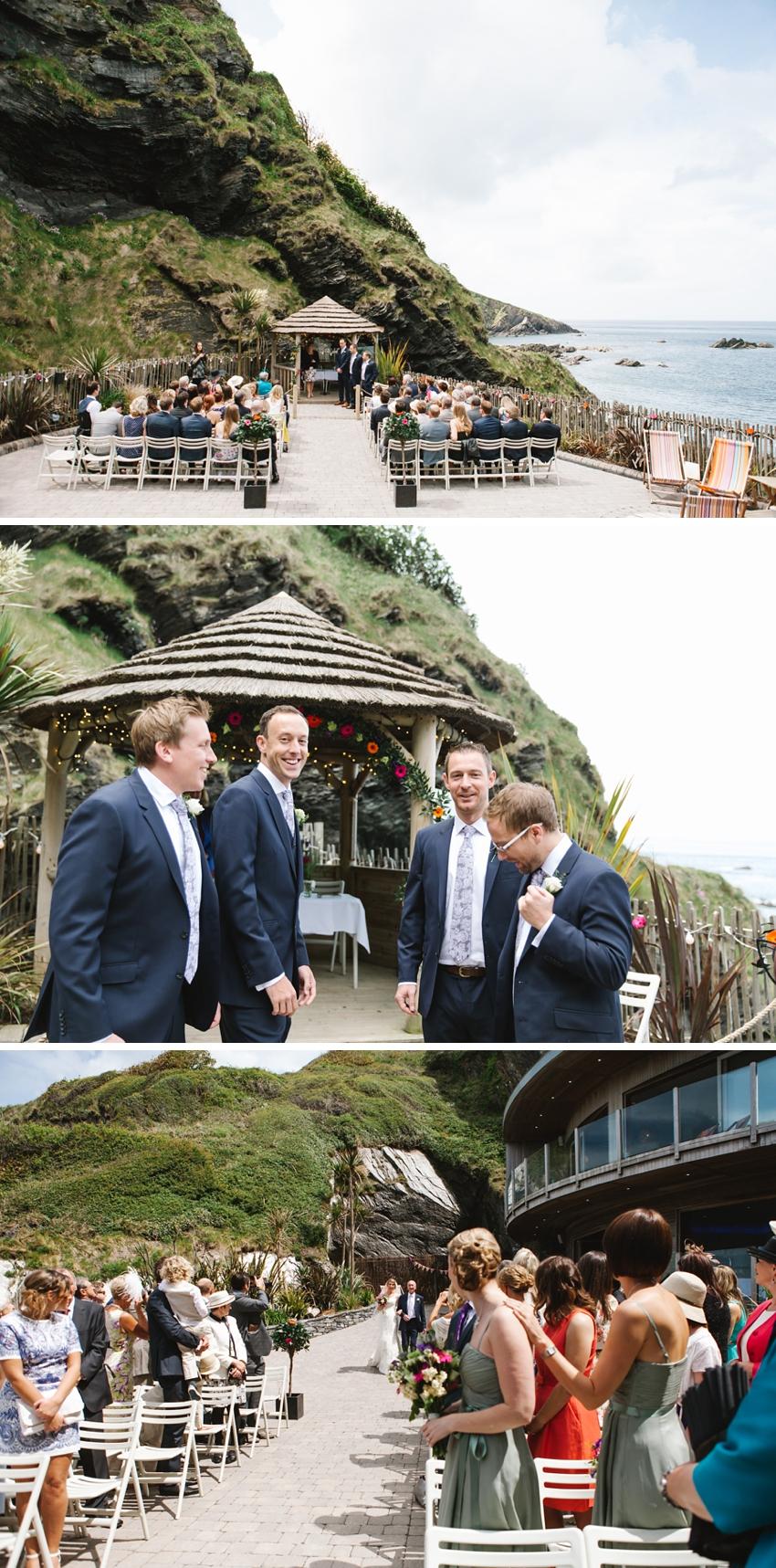 Tunnels Beach Wedding