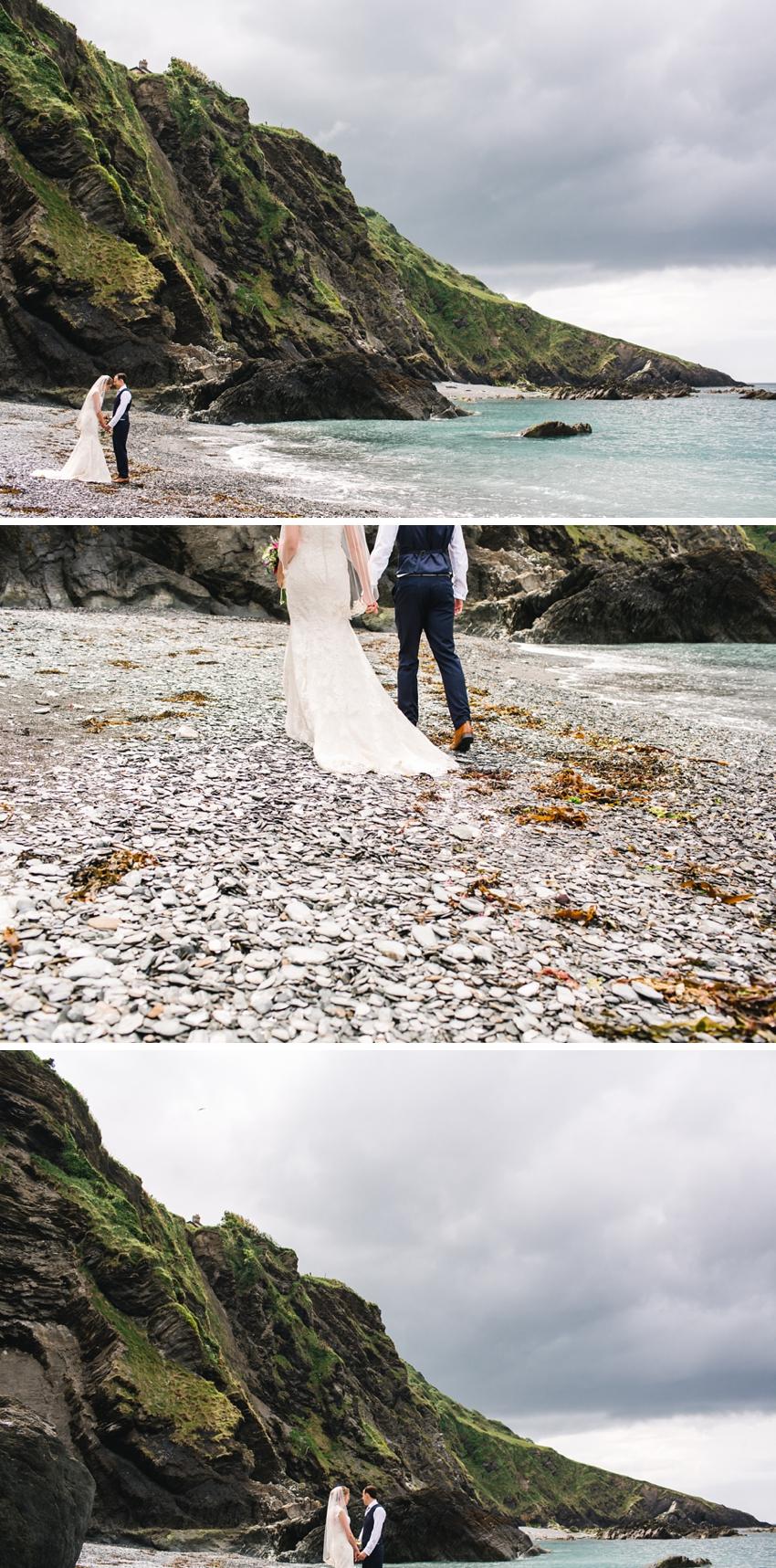 Tunnels Beach Wedding 0028