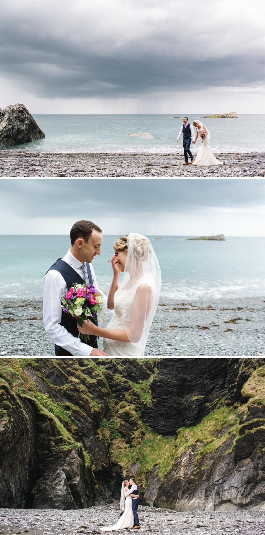Tunnels Beach Wedding 0029