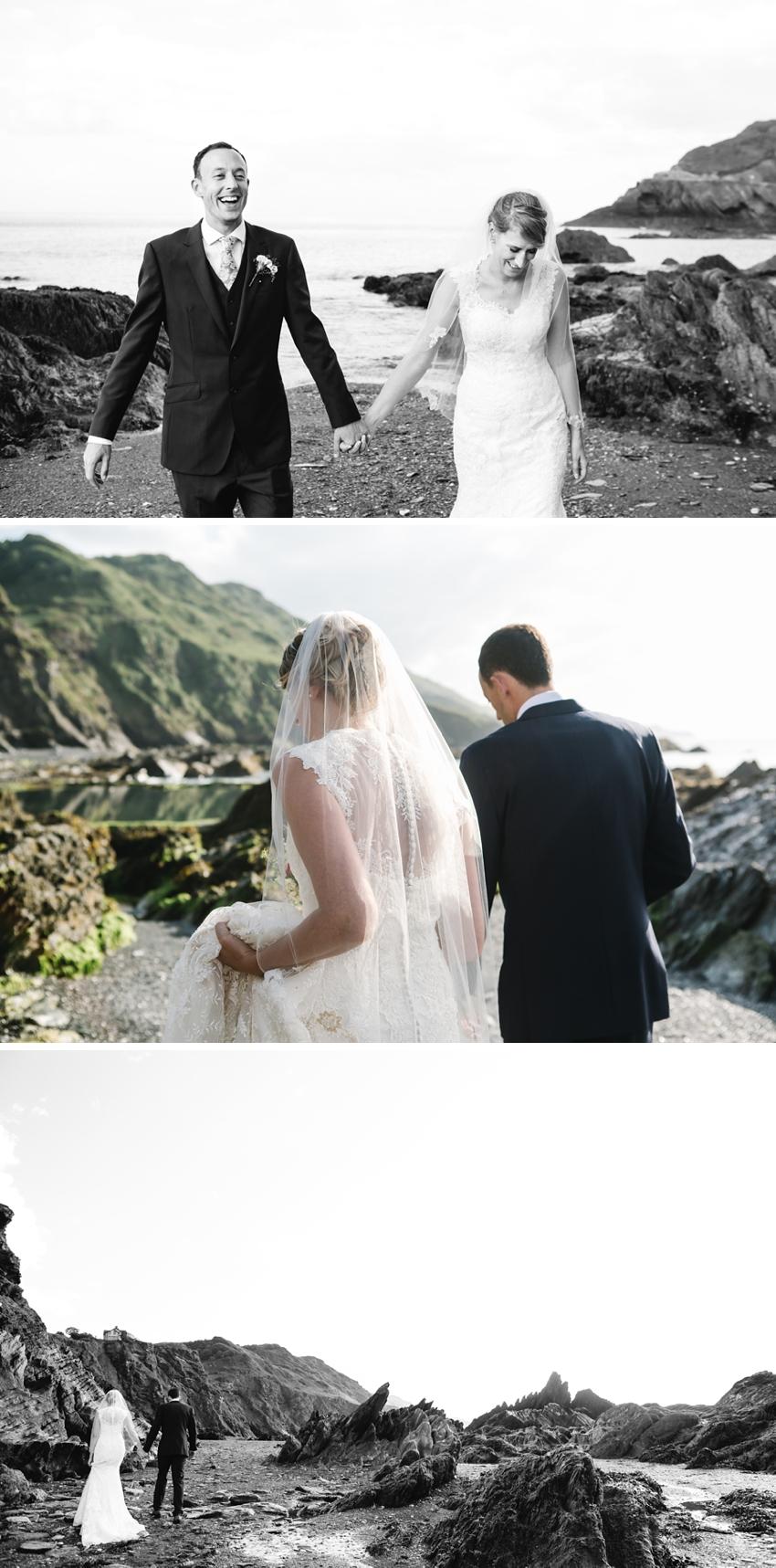 Tunnels Beach Wedding 0046
