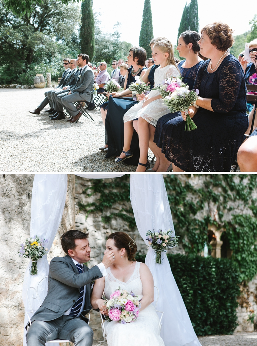 ceremony, france, wedding, guests