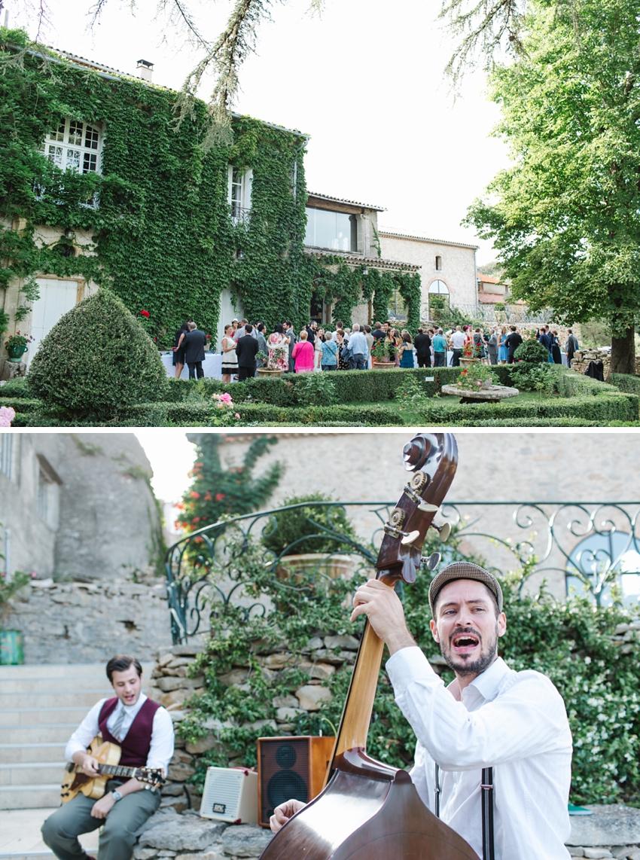 outdoor, wedding, france
