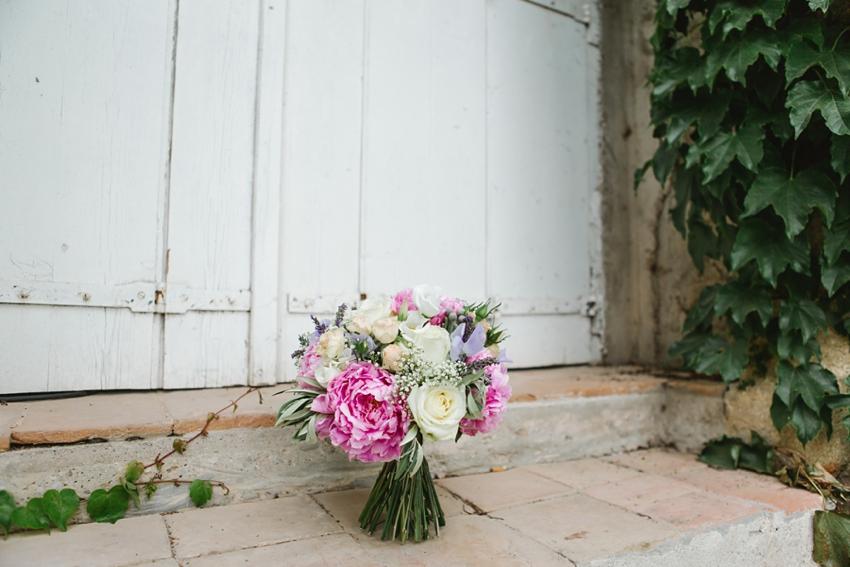 bouquet, french, chateau, wedding