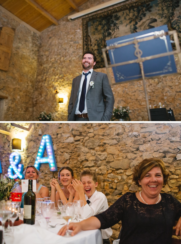 speeches, french, wedding