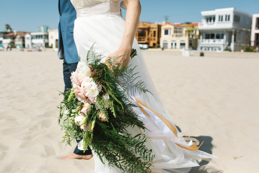 Los Angeles beach wedding