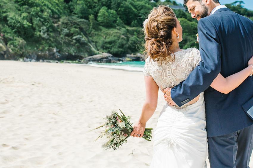 Cornwall, Beach, Wedding