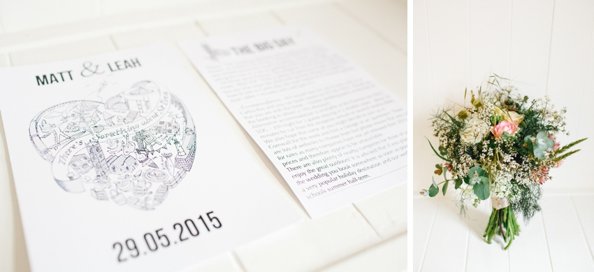 st ives, wedding, invitation