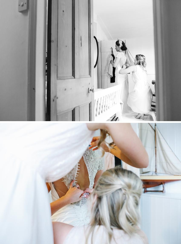 bride, preparation