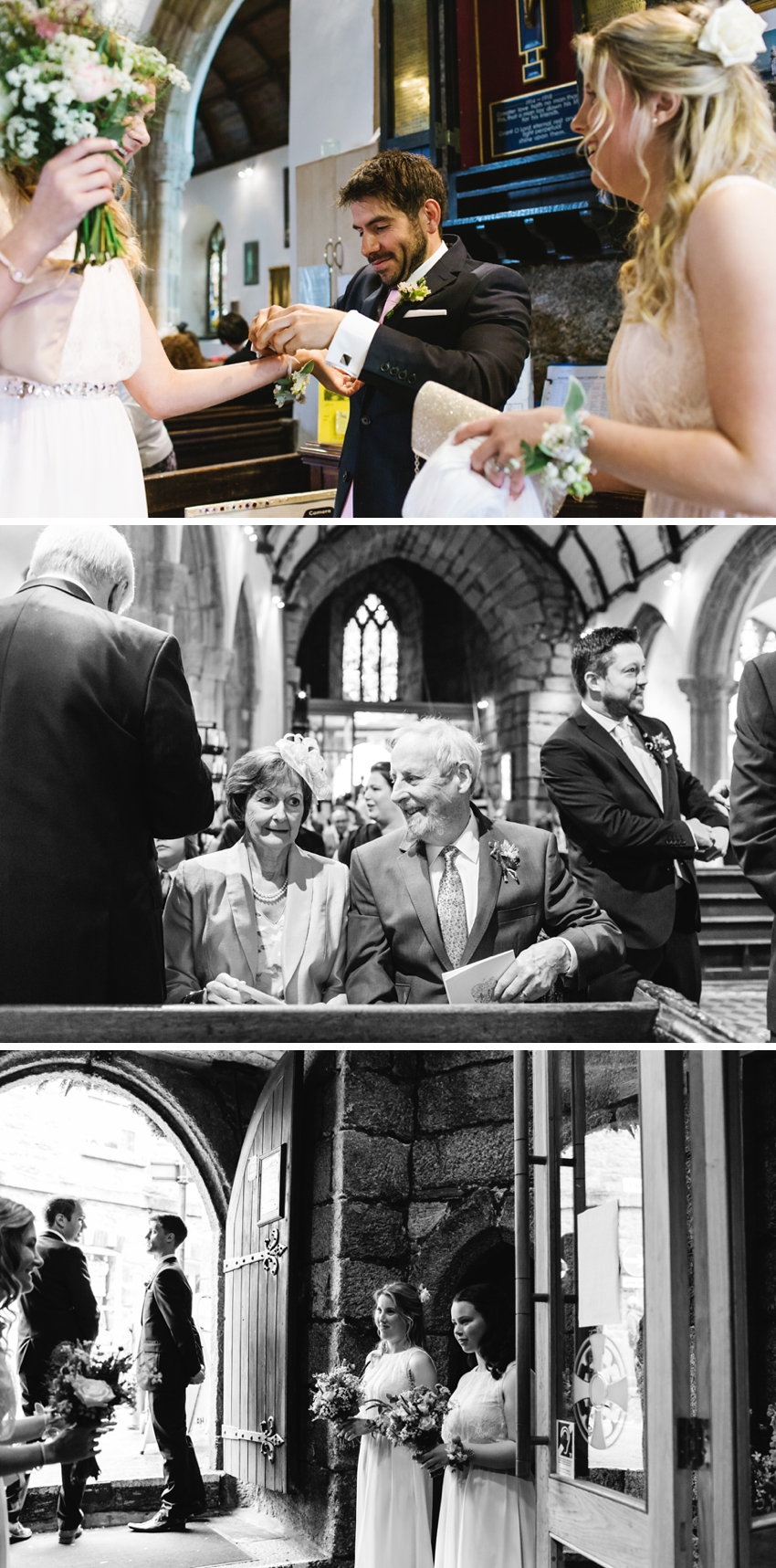 wedding, st Ia, church, cornwall