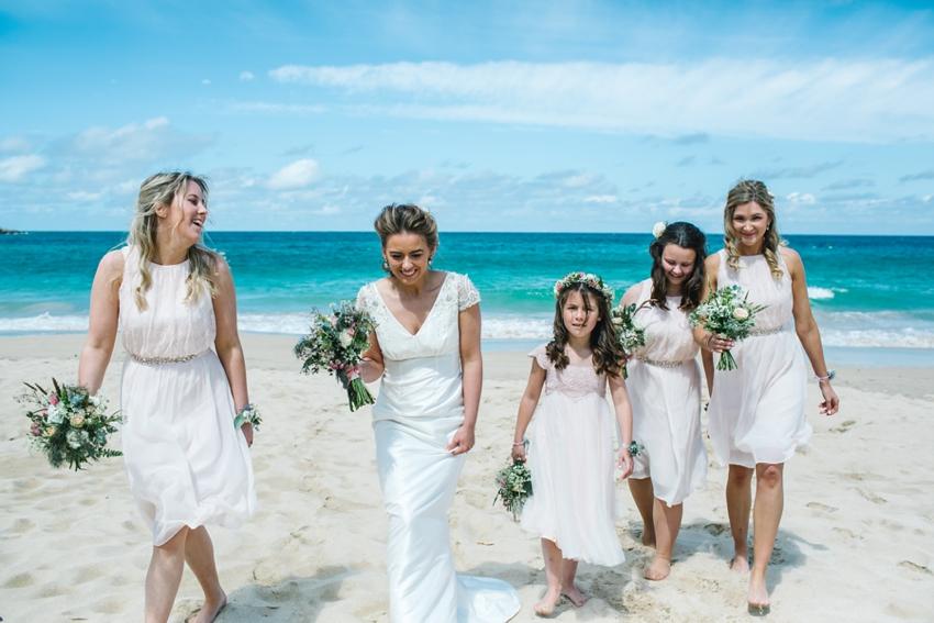 beach, wedding, st ives