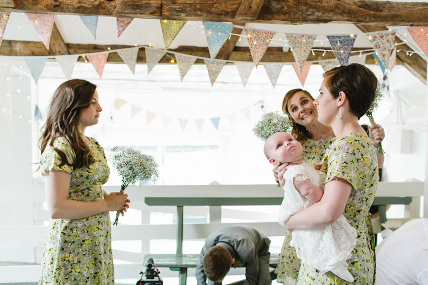 the green, cornwall, wedding