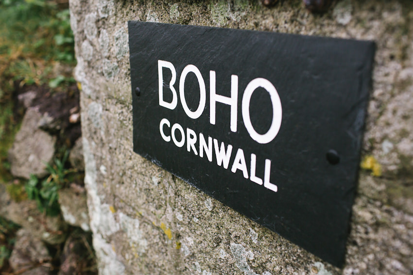 Cornwall, Elopement, BoHo