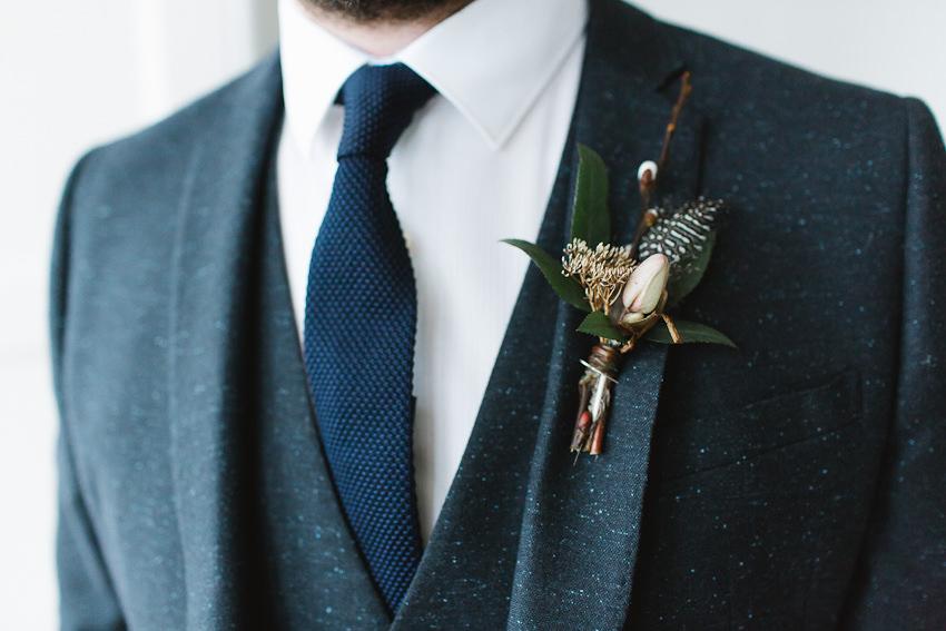 boutonniere, groom, wild, flowers