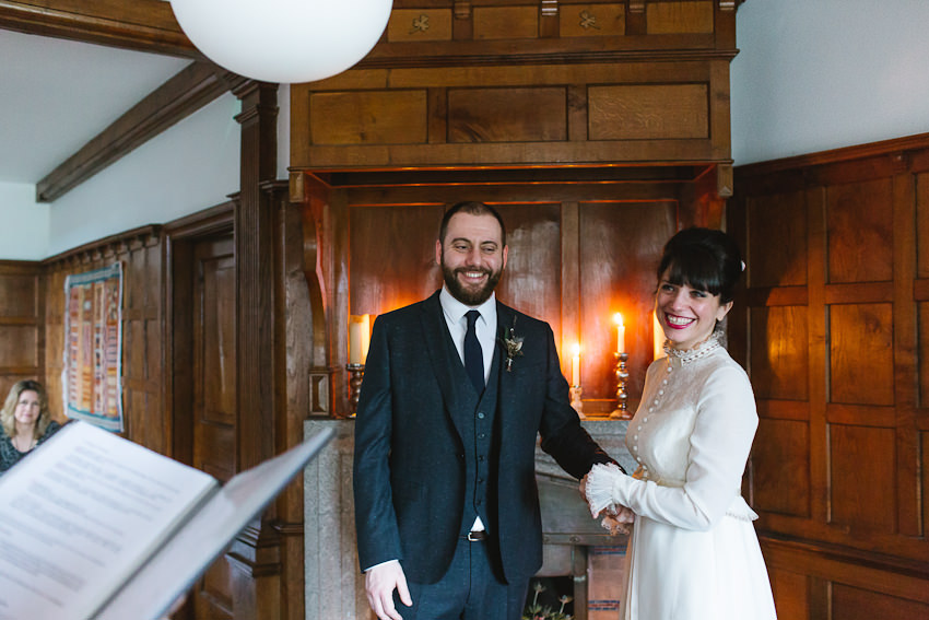 winter, ceremony, wedding, candles