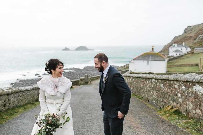 wild, cornwall, wedding, winter