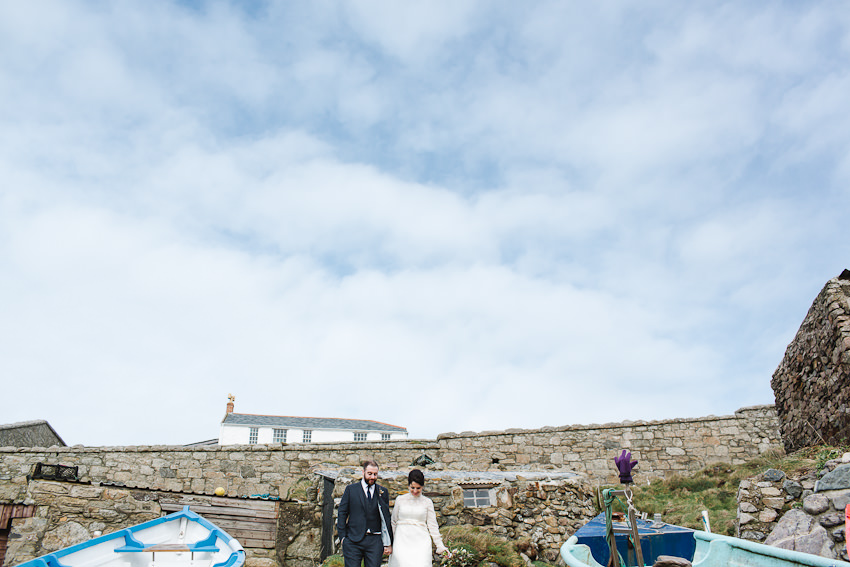 Vintage, wedding, dress, cornwall