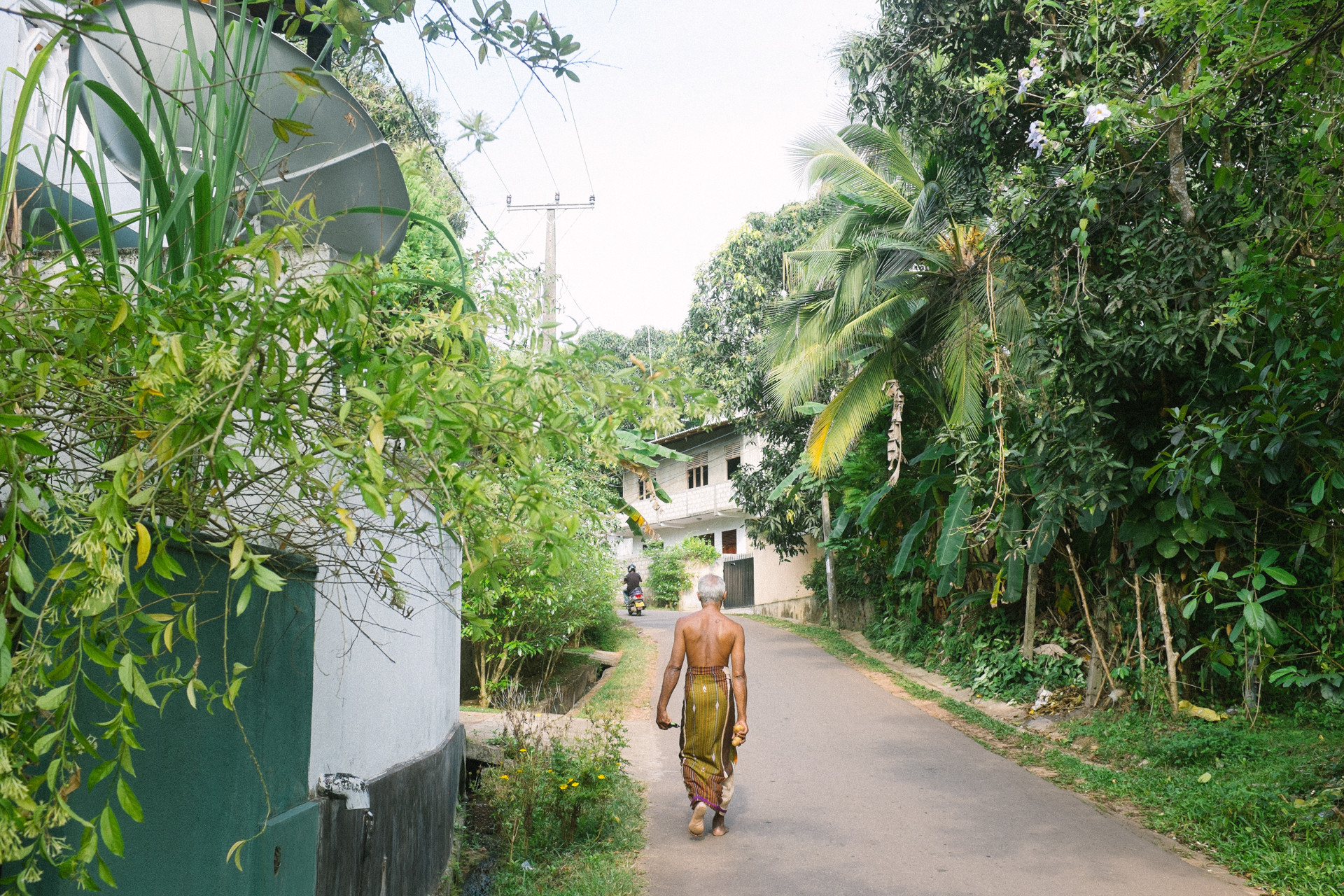 sri lanka, travel, man, walking