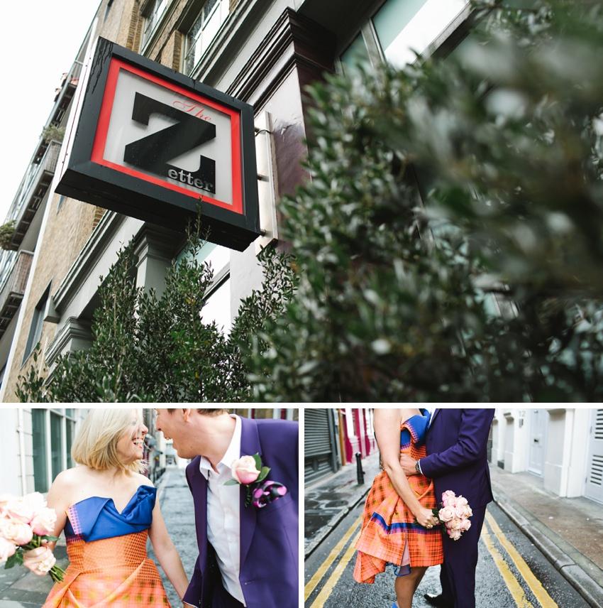 The Zetter Wedding London