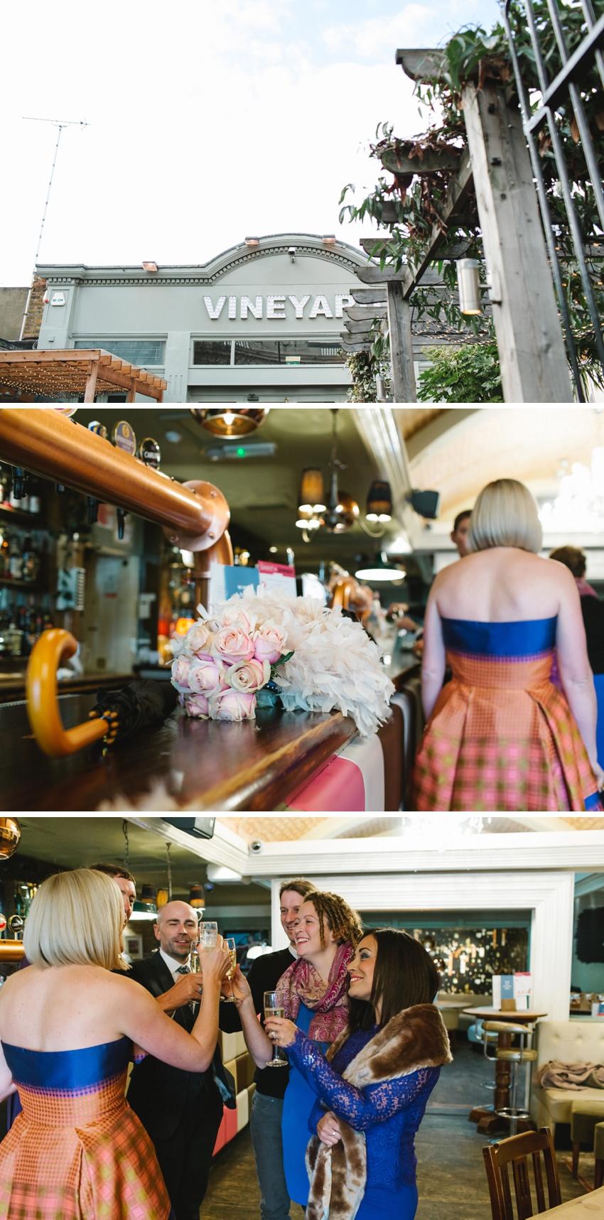 Vineyard, Islington, Wedding