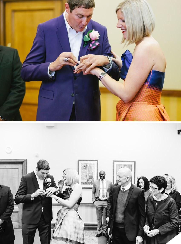 Islington Town Hall, Room 99, Wedding