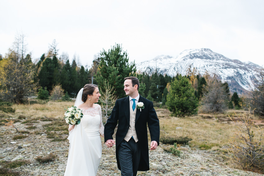Swiss, Alps, Wedding, Bride Groom