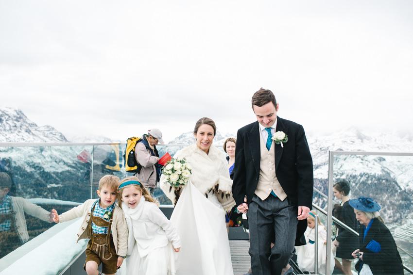 Funicular, Wedding, Swiss, Alps