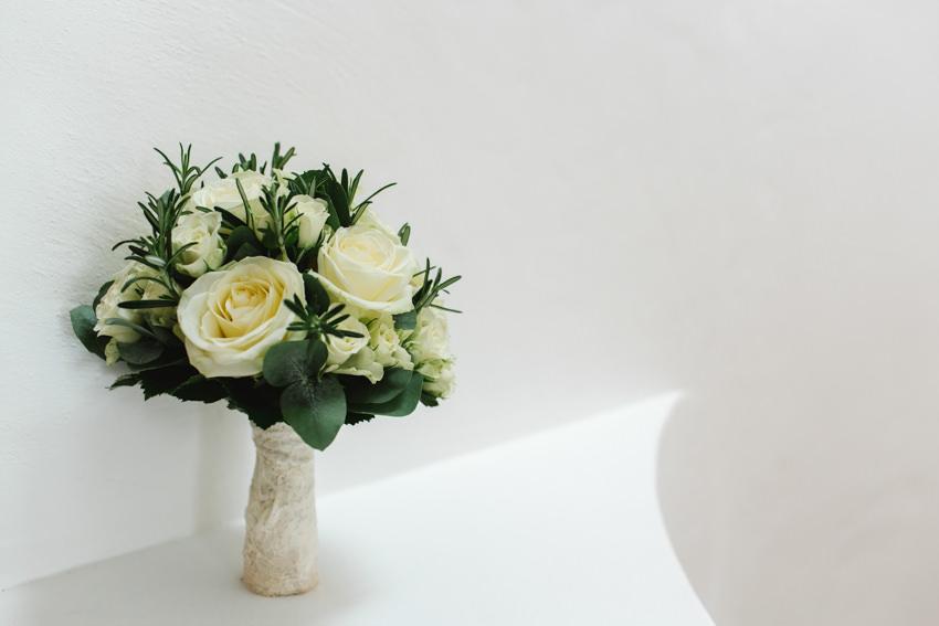 bouquet, snow, wedding