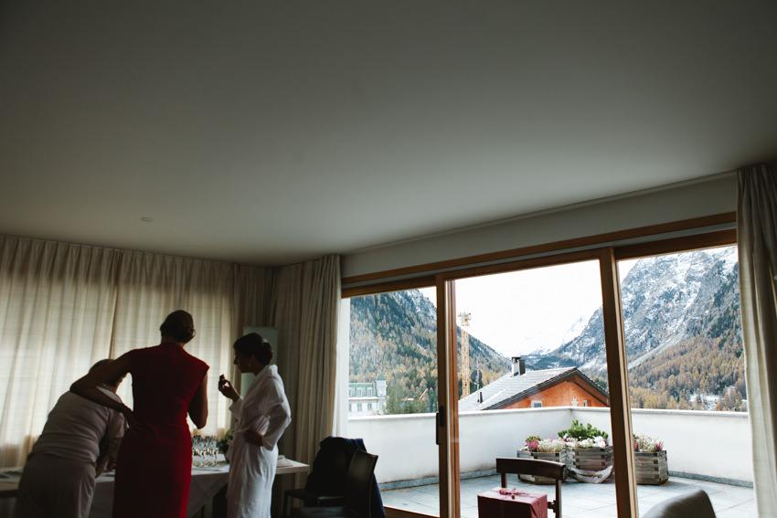 Switzerland, wedding, snow