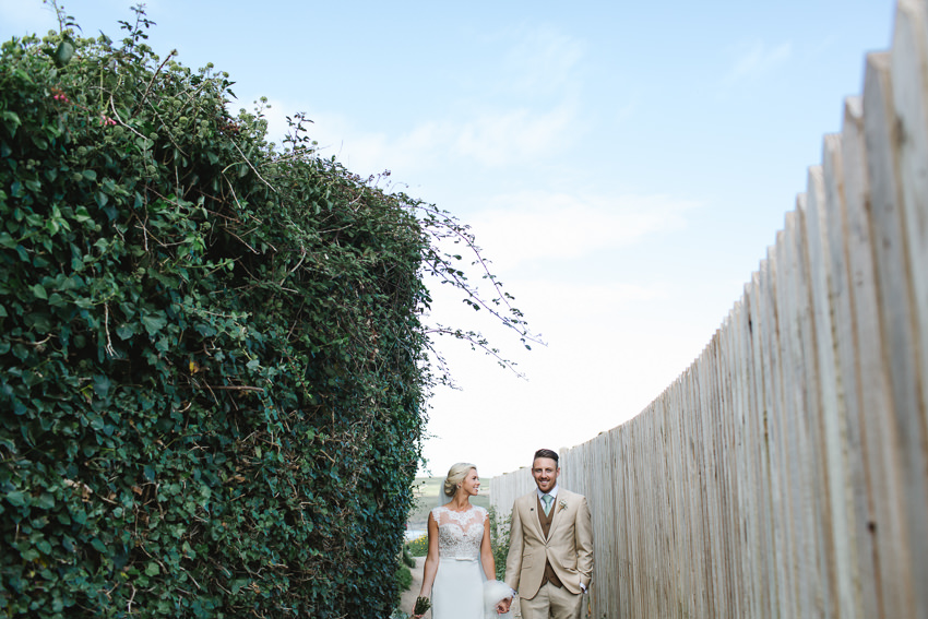 Bride, groom, beach, portraits