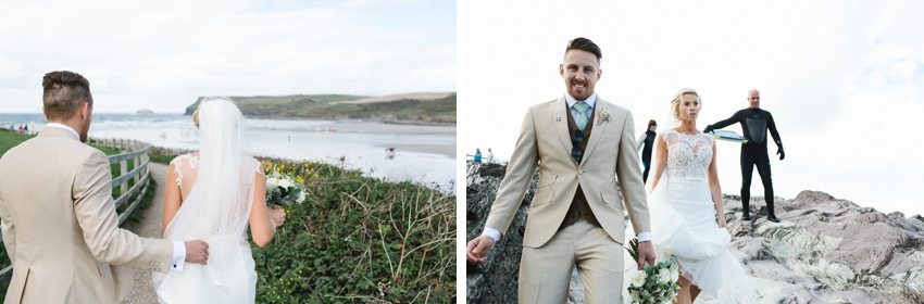 Polzeath, Beach, Wedding