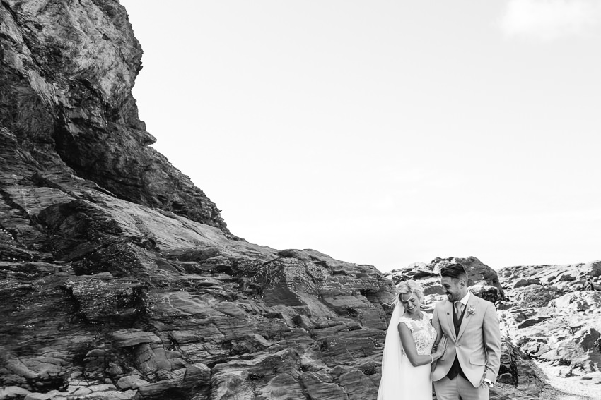 Beach, wedding, cornwall