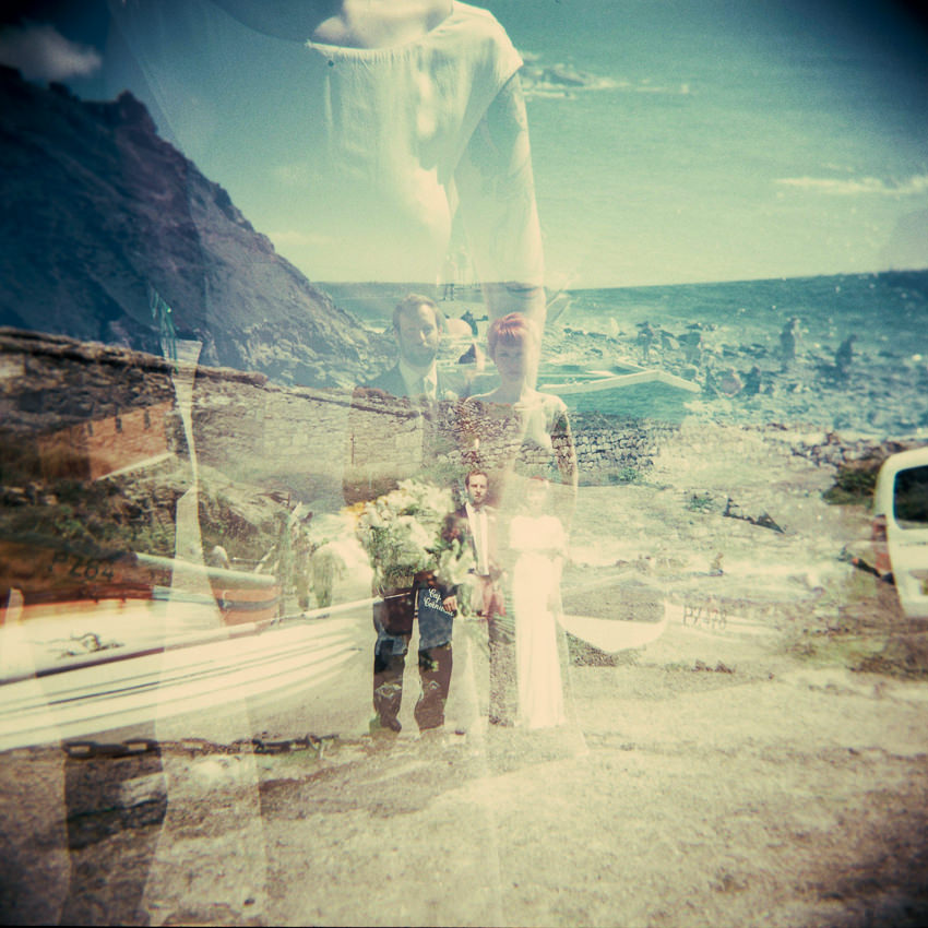 Lomography Wedding Photography