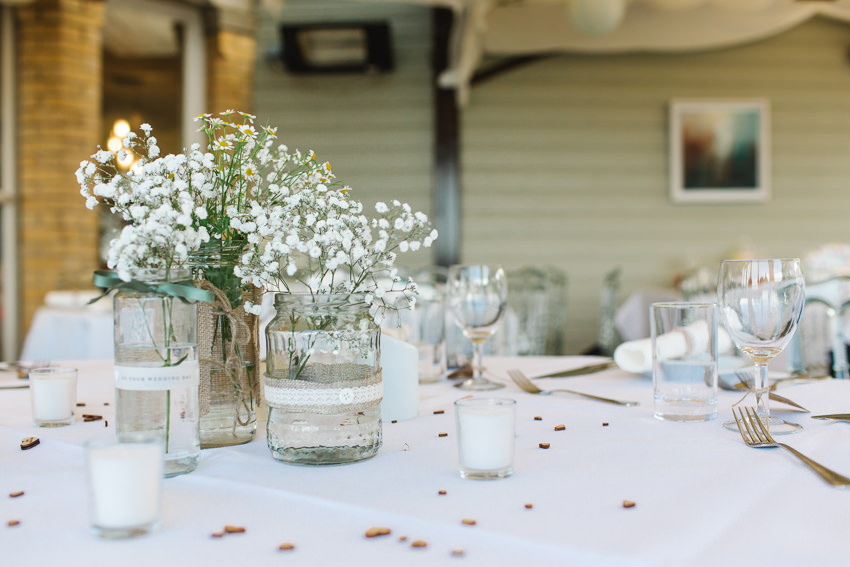 Table, decorations, beach, wedding