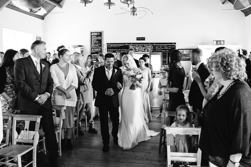 Tubestation, Polzeath, Wedding, Beach