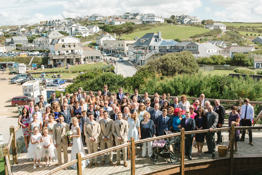 Polzeath, Tubestation, wedding