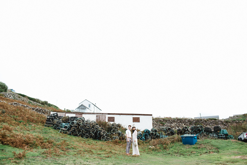 Seaside elopement UK