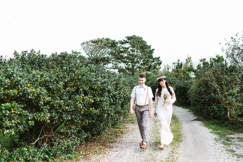 Bohemian Elopement in Cornwall