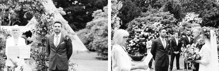 tos yr afon wedding wales