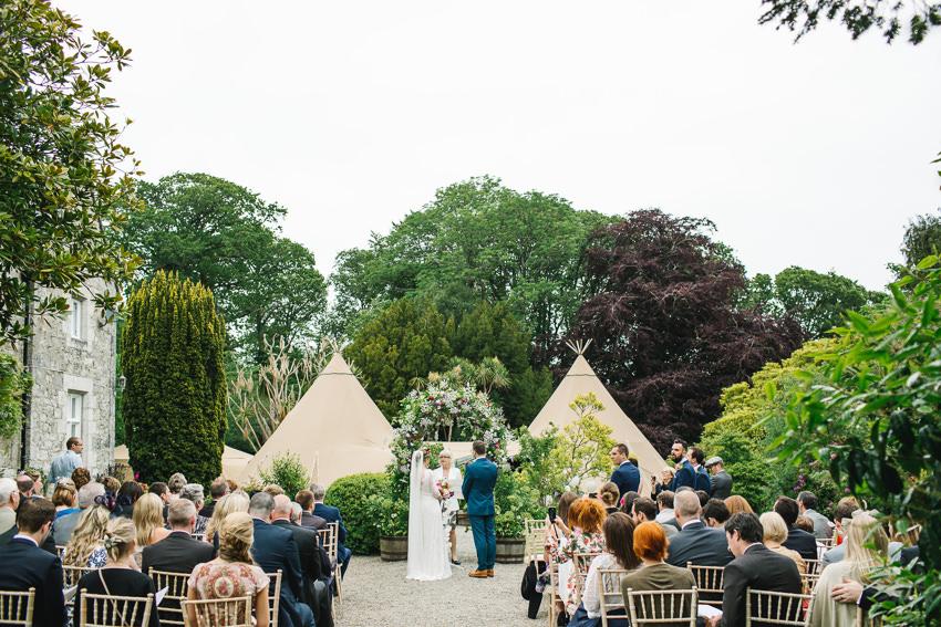tipi outdoor wedding
