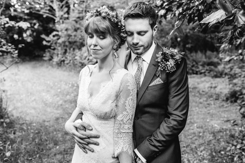 woodland tros yr afon wedding