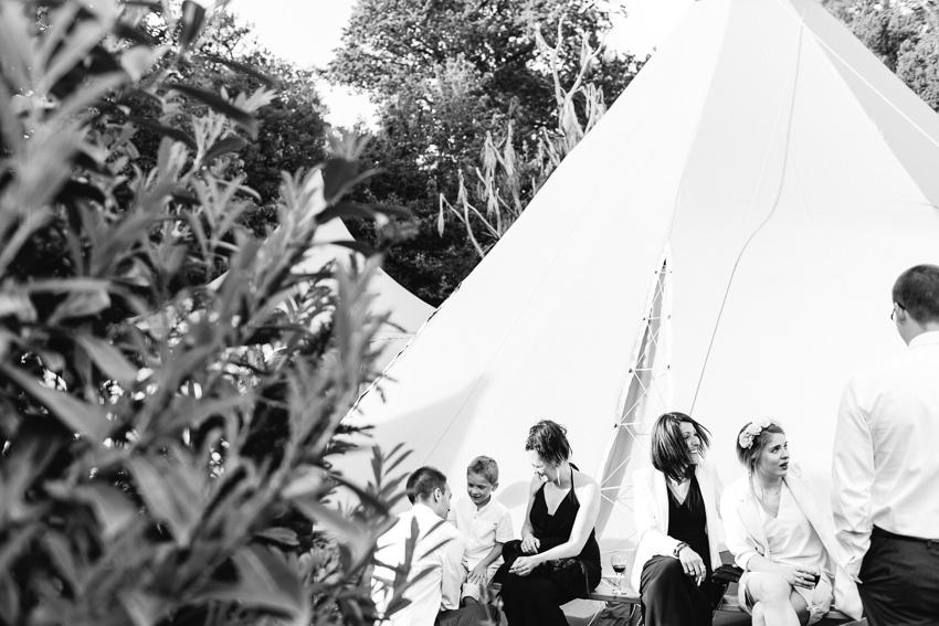 tros yr afon wedding wales