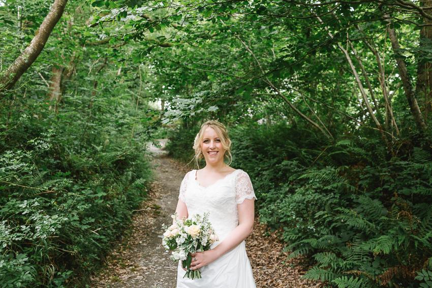 woodland wedding fforest wales debs ivelja