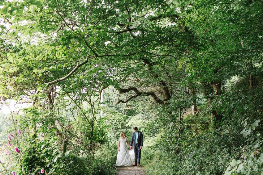 woodland fforest wedding